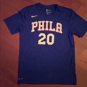 Markelle Fultz 76ers dri-fit T-Shirt